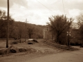 Tracks in Milton, WV, Home of Breece D'J Pancake