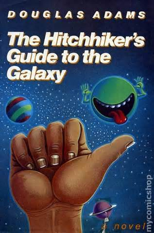 Original novel cover | the hitchhiker's guide to the galaxy | know.