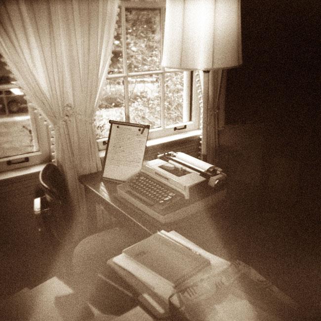 Welty Typewriter/ Eudora Welty House/ Jackson, Mississippi