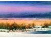 Winter Light- Pond Bank, 2007