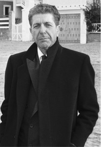 Leonard Cohen. Photo courtesy of Wikimedia Commons.