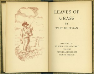 Whitman's famous poetry collection.