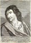 A portrait of the historical Cyrano de Bergerac.